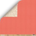 Лист двусторонней бумаги 30x30 от Scrapmir Плед из коллекции  Hello Christmas 10шт.