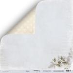 Лист двусторонней бумаги 30x30 от Scrapmir Музыка из коллекции Shabby Winter 10шт