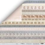 Лист двусторонней бумаги 30x30 от Scrapmir Декор из коллекции Shabby Winter 10шт