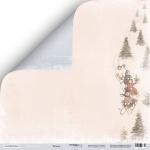 Лист двусторонней бумаги 30x30 от Scrapmir Веселье из коллекции Shabby Winter 10шт