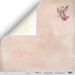 Лист двусторонней бумаги 30x30 от Scrapmir Облака из коллекции Shabby Winter 10шт