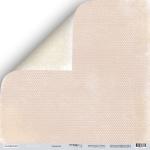 Лист двусторонней бумаги 30x30 от Scrapmir Сердечки из коллекции Shabby Winter 10шт