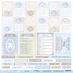 Лист односторонней бумаги 30x30 от Scrapmir Карточки (RU) из коллекции Mommy's Hero 10шт