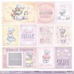Лист односторонней бумаги 30x30 от Scrapmir Карточки 2 (ENG) из коллекции Daddy's Princess 10шт