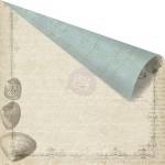 Двусторонняя бумага 30х30 Seashore - Shore Side от Prima Marketing 5 шт.