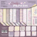 Набор двусторонней бумаги 30х30см от Scrapmir Daddy's Princess 10шт