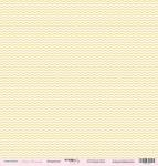 Лист односторонней бумаги 30x30 от Scrapmir Шеврончик из коллекции Наша Малышка 10шт