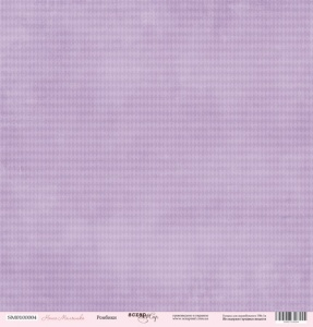 Лист односторонней бумаги 30x30 от Scrapmir Ромбики из коллекции Наша Малышка 10шт