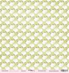 Лист односторонней бумаги 30x30 от Scrapmir Барашки из коллекции Наша Малышка 10шт