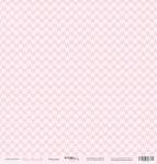 Лист односторонней бумаги 30x30 от Scrapmir Ромашки из коллекции Наша Малышка 10шт