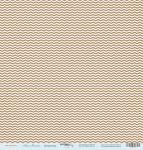 Лист односторонней бумаги 30x30 от Scrapmir Шеврончик из коллекции Наш Малыш 10шт
