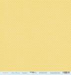 Лист односторонней бумаги 30x30 от Scrapmir Горошки 1 из коллекции Наш Малыш 10шт