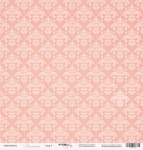 Лист односторонней бумаги 30x30 от Scrapmir Узор 4 из коллекции Элегант 10шт