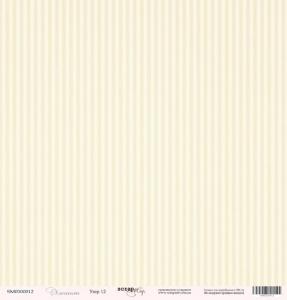Лист односторонней бумаги 30x30 от Scrapmir Узор 12 из коллекции Элегант 10шт
