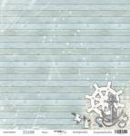 Лист односторонней бумаги 30x30 от Scrapmir Якорь из коллекции Море 10шт
