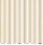 Лист односторонней бумаги 30x30 от Scrapmir Полоски из коллекции Море 10шт