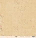 Лист односторонней бумаги 30x30 от Scrapmir Горошек из коллекции Карамель 10шт