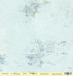 Лист односторонней бумаги 30x30 от Scrapmir Цветы из коллекции Корица 10шт