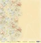 Лист односторонней бумаги 30x30 от Scrapmir Воздушный шар из коллекции Корица 10шт
