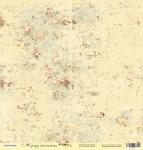 Лист односторонней бумаги 30x30 от Scrapmir Цветочный фон из коллекции Корица 10шт