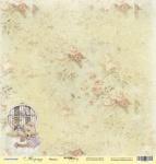 Лист односторонней бумаги 30x30 от Scrapmir Мишка из коллекции Корица 10шт
