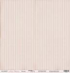Лист односторонней бумаги 30x30 от Scrapmir Полоски из коллекции Леди Шебби 10шт