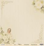 Лист односторонней бумаги 30x30 от Scrapmir Невеста из коллекции Наша Свадьба 10шт