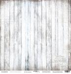Лист односторонней бумаги 30x30 от Scrapmir Белый граундж из коллекции French Provence 10шт