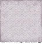 Лист односторонней бумаги 30x30 от Scrapmir Переплетения из коллекции French Provence 10шт