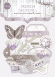 Набор высечек для скрапбукинга 50шт от Scrapmir French Provence