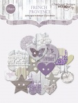 Пуговки из чипборда для скрапбукинга 18шт от Scrapmir French Provence