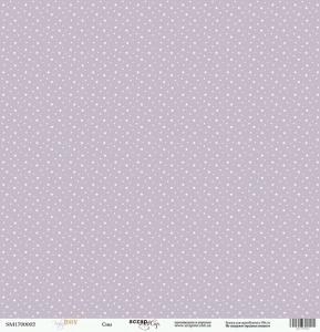 Лист односторонней бумаги 30x30 от Scrapmir Сны из коллекции Baby Boy 10шт