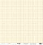 Лист односторонней бумаги 30x30 от Scrapmir Клеточка 1 из коллекции Baby Boy 10шт