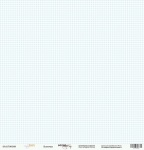 Лист односторонней бумаги 30x30 от Scrapmir Клеточка из коллекции Baby Boy 10шт