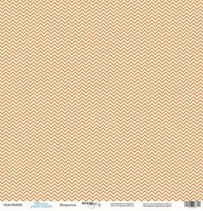 Лист односторонней бумаги 30x30 от Scrapmir Шеврончик из коллекции Такие Мальчишки 10шт