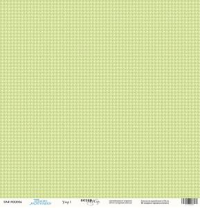 Лист односторонней бумаги 30x30 от Scrapmir Узор 1 из коллекции Такие Мальчишки 10шт