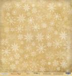 Лист односторонней бумаги 30x30 от Scrapmir Метель из коллекции Christmas Night 10шт