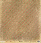 Лист односторонней бумаги 30x30 от Scrapmir Ритмика из коллекции Christmas Night 10шт