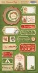 Чипборд для скрапбукинга 18шт от Scrapmir Christmas Night