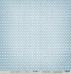 Лист односторонней бумаги 30x30 от Scrapmir Звездопад из коллекции Rustic Winter 10шт