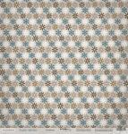 Лист односторонней бумаги 30x30 от Scrapmir Снежинки из коллекции Rustic Winter 10шт