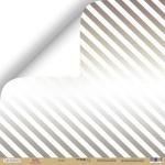 Лист односторонней бумаги с серебряным  тиснением 30x30 от Scrapmir Холод  из коллекции Hello Christmas 10шт.