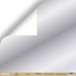 Лист односторонней бумаги с серебряным тиснением 30x30 от Scrapmir Серебро из коллекции Hello Christmas 10шт.