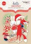 Набор высечек для скрапбукинга 42шт от Scrapmir Hello Christmas