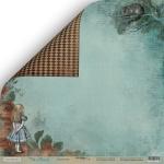 Лист двусторонней бумаги 30x30 от Scrapmir Незнакомец из коллекции Time to Dream 10шт