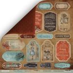 Лист двусторонней бумаги 30x30 от Scrapmir Карточки 1 (ru.) из коллекции Time to Dream 10шт