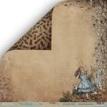 Лист двусторонней бумаги 30x30 от Scrapmir Игра из коллекции Time to Dream 10шт