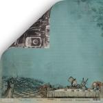 Лист двусторонней бумаги 30x30 от Scrapmir Чаепитие из коллекции Time to Dream 10шт