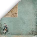 Лист двусторонней бумаги 30x30 от Scrapmir Время из коллекции Time to Dream 10шт