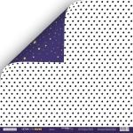 Лист двусторонней бумаги 30x30 от Scrapmir Звёзды из коллекции Ticket to the Moon 10шт